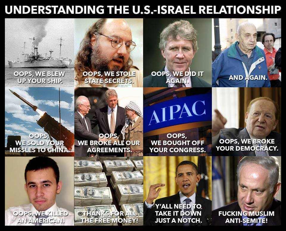 "With an ""ally"" like Israel, who needs enemies?"